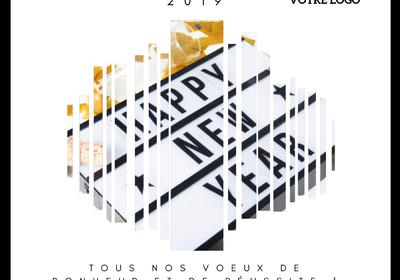 Les cartes de voeux avec logo - AFE-BENELUX