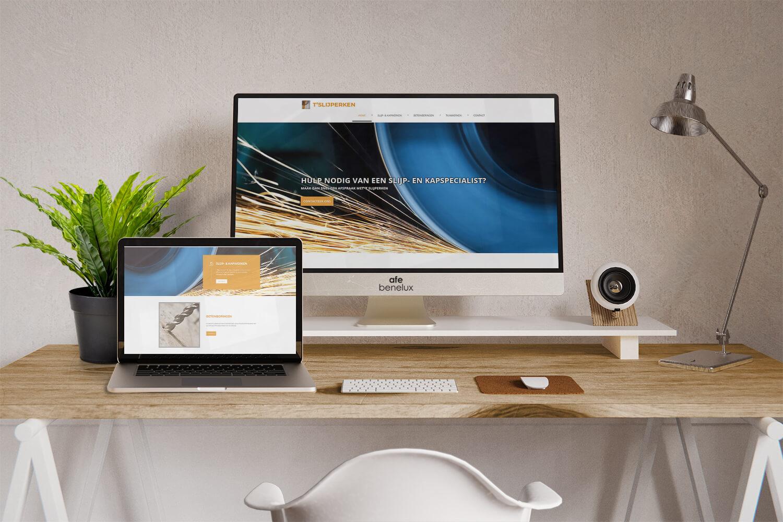 Creatie website||T'slijperken