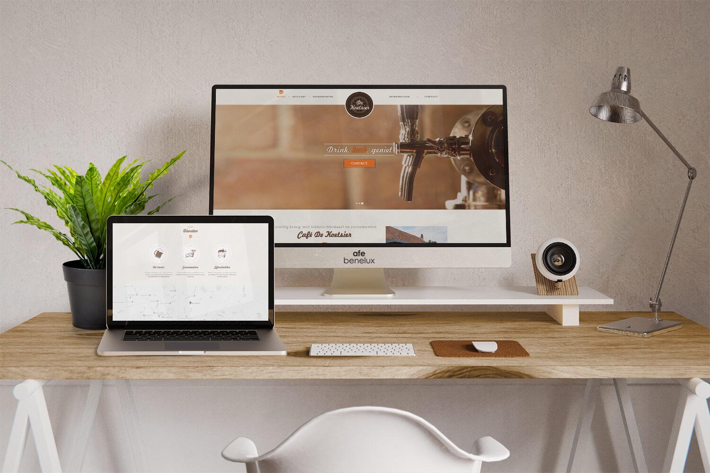 Creatie website||Café De Koetsier