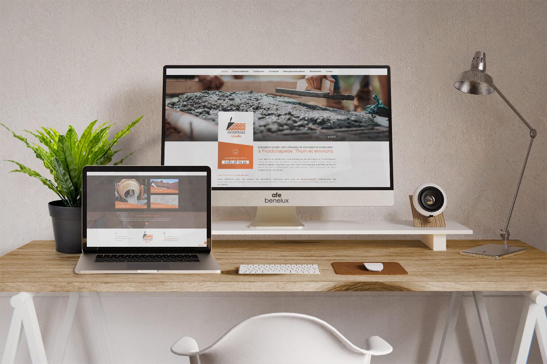 Création site internet||Entreprises Quoilin