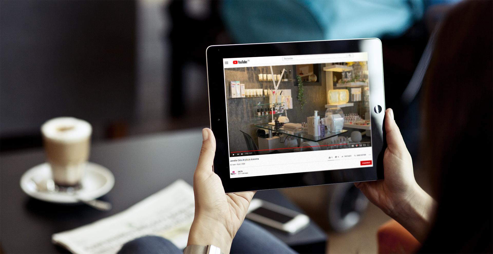 Création vidéo d'entreprise || Jennifer Célis Institute