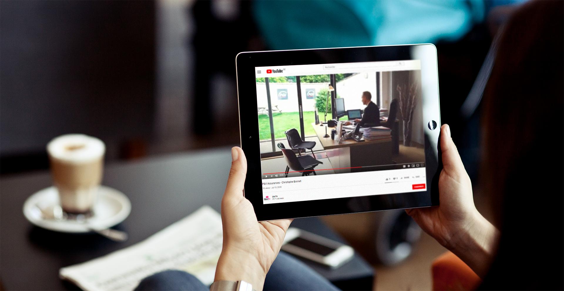 Création vidéo d'entreprise || P&V Assurances Christophe Bonnet